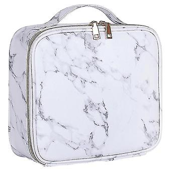 Cosmetic toiletry bags marble cosmetic bag partition multi functional portable travel storage makeup case|cosmetic bags