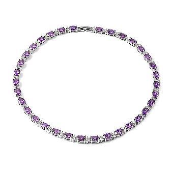 Tennis Halskette für Frauen 16 '' Kubische Zirkonia Geschenk für Frau/Freundin/Mutter