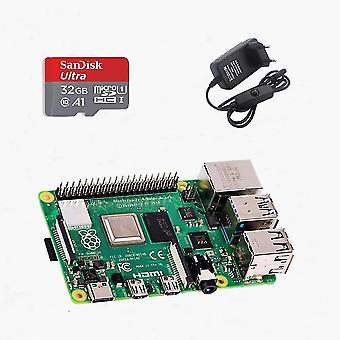 Raspberry Pi 4 4gb Basic Kit mit 32gb Sd Karte
