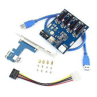 Riser Card Mini Adapter Poort