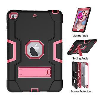 Vhodné pre iPad Mini 4/5 All-inclusive ochranný kryt, detský tablet počítač ochranný plášť s konzolou, nárazový ochranný kryt