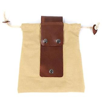 Canvas Foraging Orchard Pouch Collapsible Waist Fruit Picking Bag Hanged Tool For Hiking Mushroom Picking