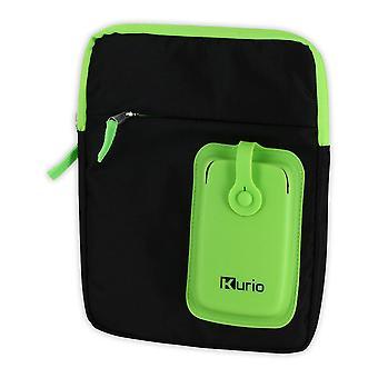 Meroncourt Kurio llevar bandolera para 4-10 pulgadas dispositivo verde/negro (C13700GI)