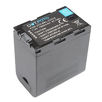 Dot.Foto JVC SSL-JVC75 Replacement Battery - 7.4v / 7800mAh