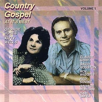 Country Gospel at It's Best - Vol. 1-Country Gospel at It's Best [CD] USA import