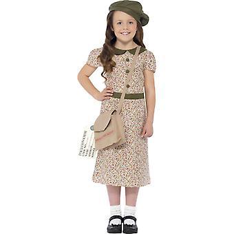 50iger Jahre Retro Schulmädchen Schuluniform Kinderkostüm