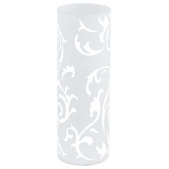 EGLO GEO напечатаны оттенок стекла настольная лампа