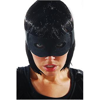 Masks  Black zorro mask with ribbons