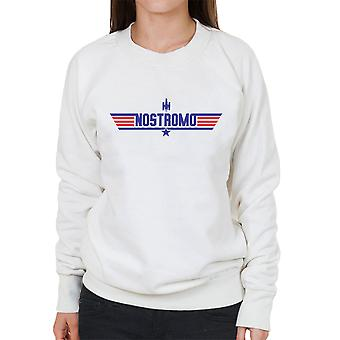 Top Gun Logo Nostromo Aliens Women's Sweatshirt