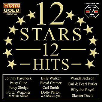 Various Artist - 12 Stars - 12 Hits Vol. 2 [CD] USA import