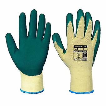 Portwest - Latex Palm Dipped Gripper Gloves (6 Pair Pack)