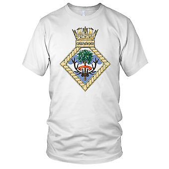Royal Navy HMS Collingwood Ladies T Shirt
