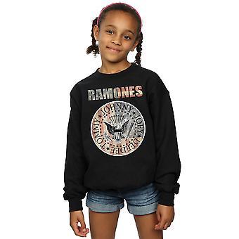 Ramones Girls Flag Seal Sweatshirt