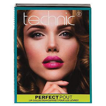 Technic Perfect Pout Lip Collection Gift Set