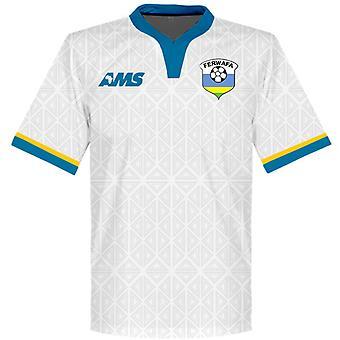 2015-2016 Rwanda Away Football Shirt