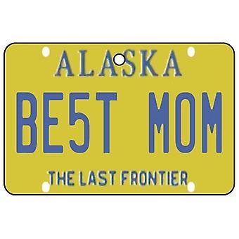 Alaska - bedste mor nummerplade bil luftfriskere