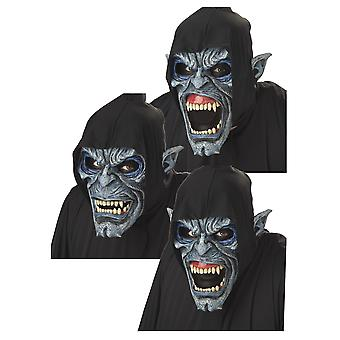 Night Stalker Monster Deluxe Horror Halloween mænd kostume Ani-Motion maske