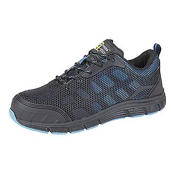 Grafters Mens Super Light Safety Trainers With Safety Toe Cap