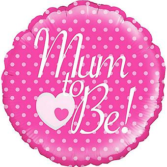 Oaktree Mum To Be Circle Foil Balloon