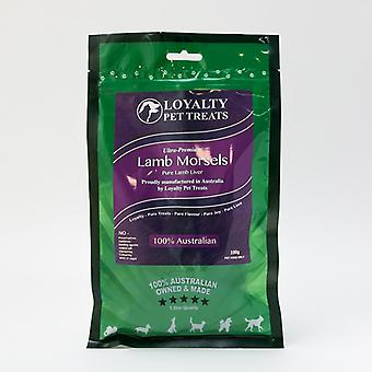 Loyalty Pet Treats Lamb Morsels 100G