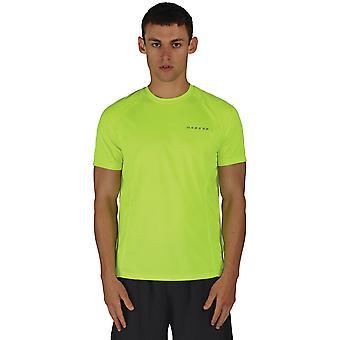 Uskalla 2b miesten heikentää Polyesteri Mesh nopeasti kuivuva harjoitus t-paita