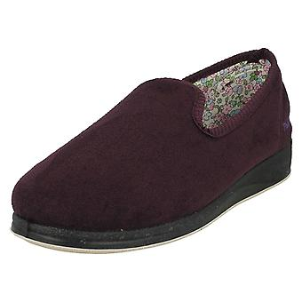 Dames Padders Wide Fit Slippers Repos 18