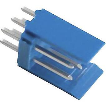 TE Connectivity Pin stribe (standard) AMPMODU HE14 samlede antal stifter 6 Kontakt afstand: 2,54 mm 281739-3 1 computer(e)