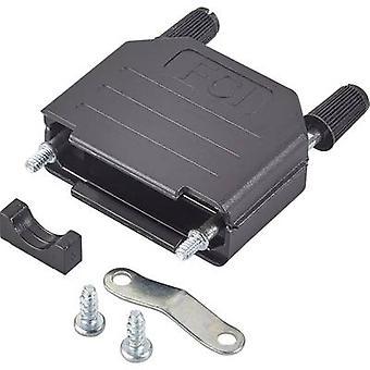 FCI D-SUB D-SUB Gehäuse Anzahl der Stifte: 25 Kunststoff 180 ° Schwarz 1 Stk.