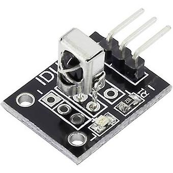 Iduino 1485322 IR receiver Suitable for (single board PCs) Arduino