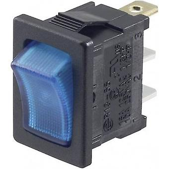 Przełącznik SCI R13-66B-02 LED 12 V 12 V DC 16 A 1 x Off/On zatrzask 1 szt.