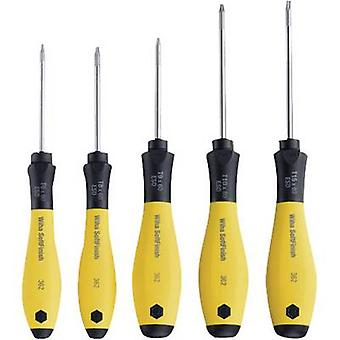 Wiha 362SF ESD Screwdriver set 5-piece TORX socket