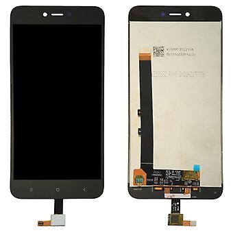 Xiaomi Redmi Huomautus 5 a korjaus LCD täydellinen näyttölaite touch musta korvaaminen