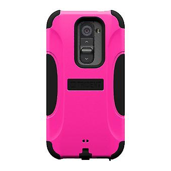 AFC Trident, Inc. Aegis Case for LG Optimus G2 (Pink/Black)