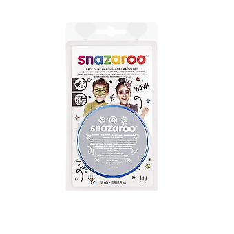 Snazaroo Face Paint 18Ml-Light Gray