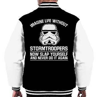 Original Stormtrooper Imagine Life Without Men's Varsity Jacket