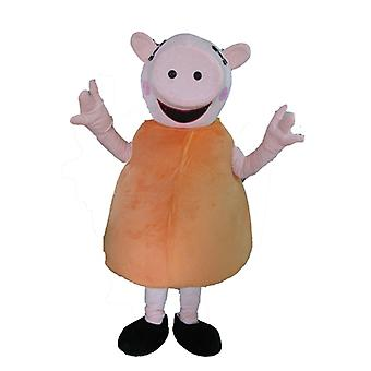 famous SPOTSOUND of Peppa Pig, pig TV series mascot