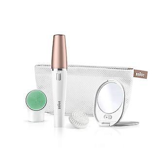 Braun FaceSpa 3-in-1 Facial Epilator For Hair Removal And Cleansing Brush