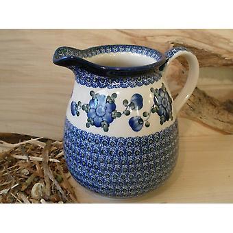 Jar, 1500 ml, altura 16cm, tradicional 9 - polonês cerâmica - BSN 5026