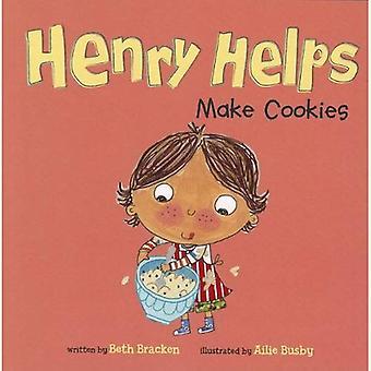 Henry aiuta a fare i biscotti