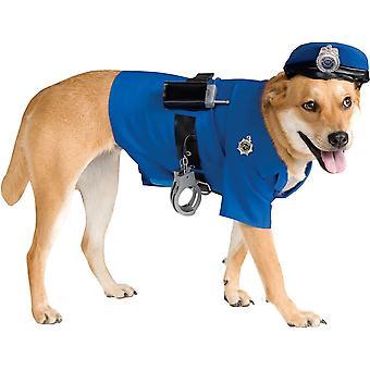 Policía de mascotas traje
