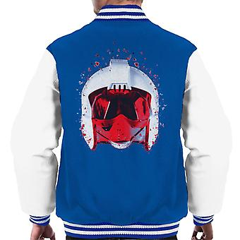 Original Stormtrooper Rebel Pilot Helmet Shatter Effect Men's Varsity Jacket