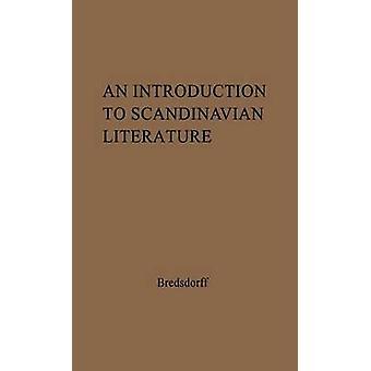 Une Introduction à la littérature scandinave depuis le premier temps jusqu'à nos jours par Bredsdorff & Elias