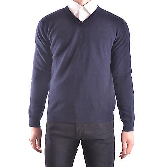 Altea Ezbc048050 Men's Blue Wool Sweater