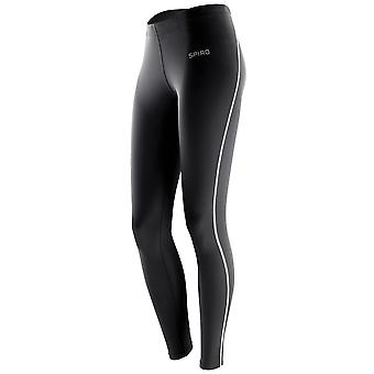Spiro Ladies/Womens Bodyfit Performance Base Layer Leggings (Pack of 2)