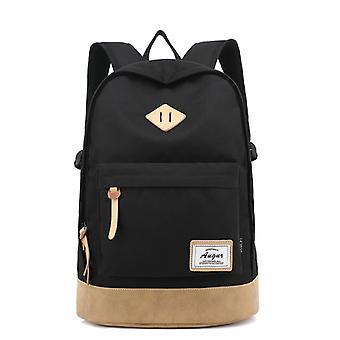 Adventurous and roomy backpack-black