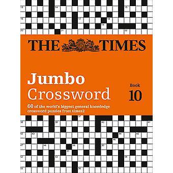 تايمز 2 جمبو الكلمات المتقاطعة كتاب 10 -- 60 من العالم & apos أكبر لغز