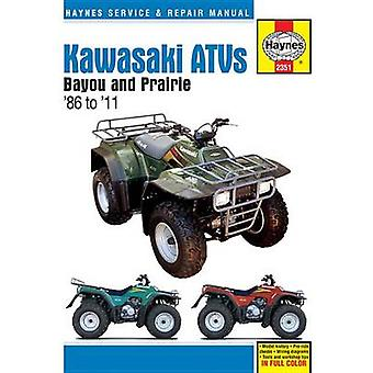 Kawasaki Bayou & Prarie ATVs - 1986 - 2011 by Anon - 9781620921746 Book