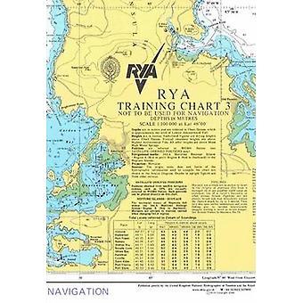 RYA Training Chart - No. 3 - 9781906435103 Book