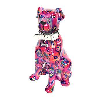 Spaarpot Hond Mylo roze