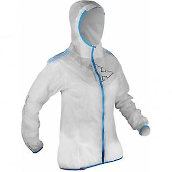 Raidlight Hyperlight Mp+ Womens Waterproof Breathable Jacket White/electric Blue